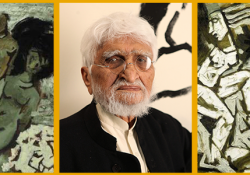 The Modern Indian Painter - M.F Hussain