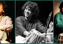 Also known as the Tabla Maestro, Ustad Zakir Hussain is the son of the renowned tabla player Ustad Allah Rakha